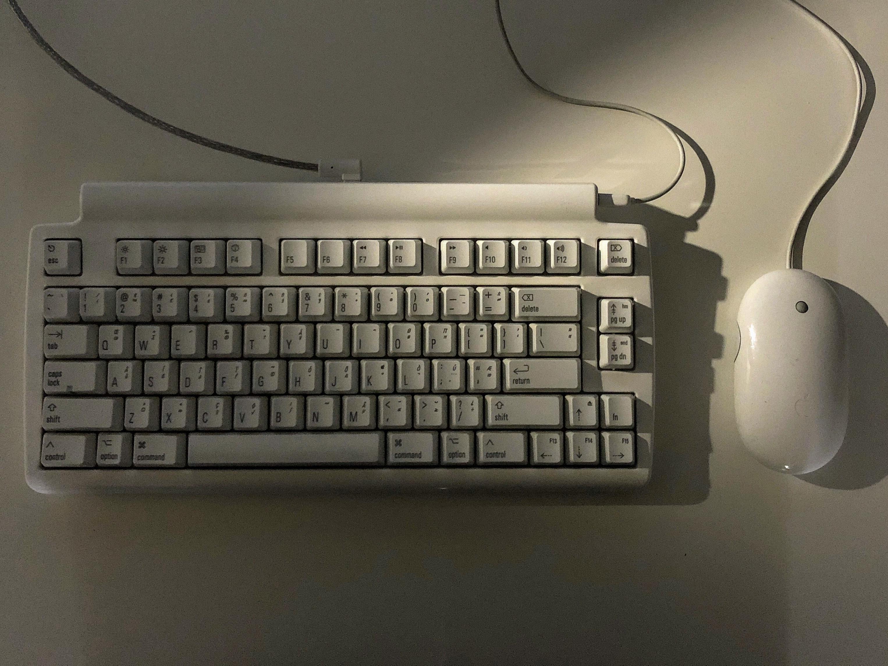 My Matias Mini Tactile Pro keyboard